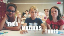 Laschar ir video «Théa, Mathias e Thaïs»