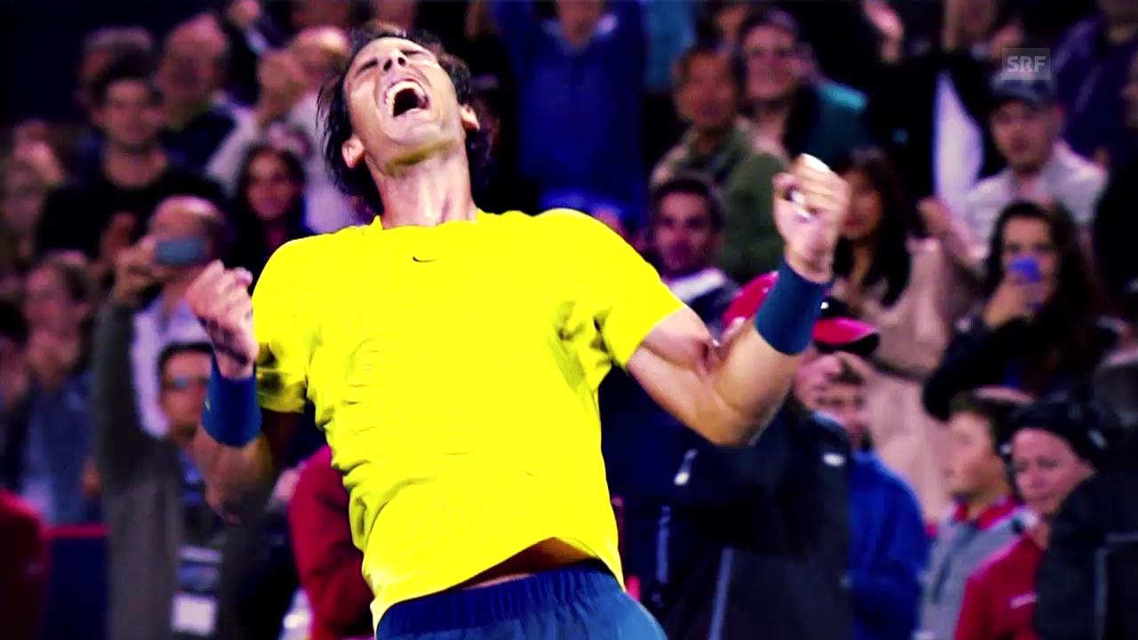 Tennis: ATP Finals, Profil Rafael Nadal (englisch)