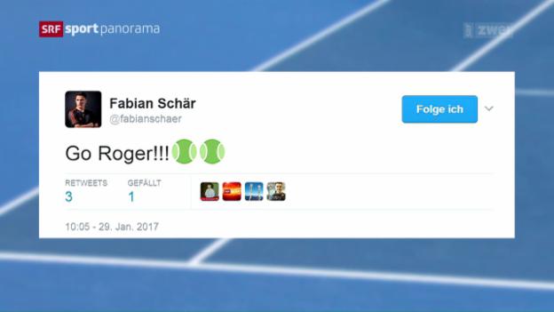 Video «Federer oder Nadal? Mitfiebern beim Melbourne-Final» abspielen