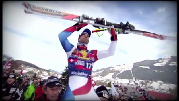 Video «Ski: Schweizer Siegesserie auf der Streif» abspielen