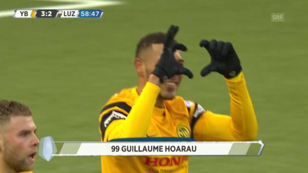 Video «Hoaraus Treffer zum 3:2» abspielen