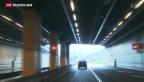 Video «Ständerat grundsätzlich für zweite Röhre am Gotthard» abspielen