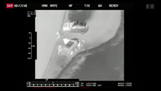 Video «Zahl der aufgegriffenen Schlepper nimmt zu» abspielen