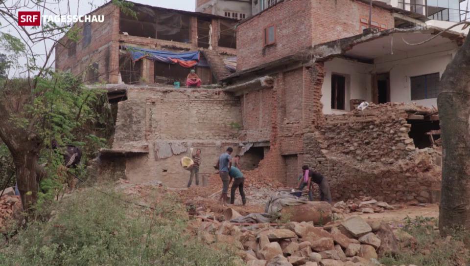 Nepal: Trotz Millionen stockt Wiederaufbau