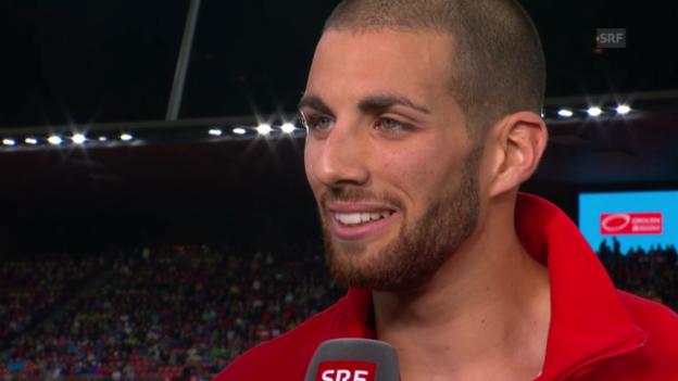Video «Leichtathletik-EM: Interview mit Kariem Hussein» abspielen