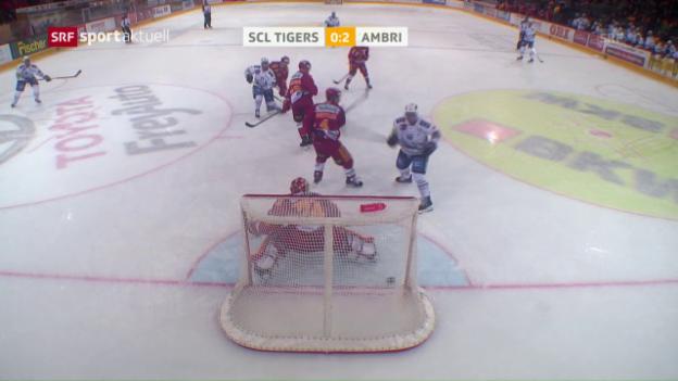 Video «Tigers verlieren bei Ehlers-Debüt» abspielen