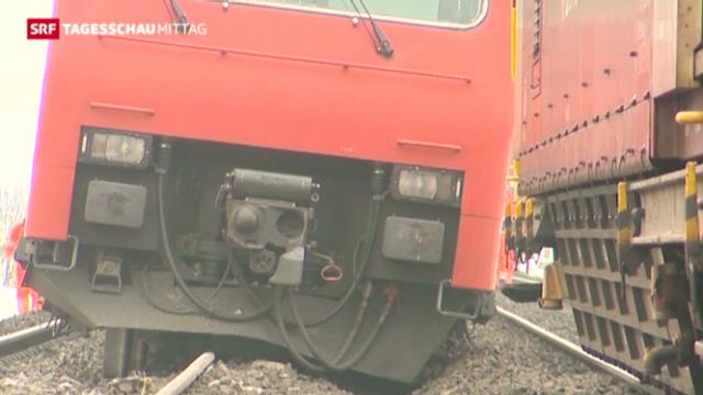 S-Bahnzug entgleist