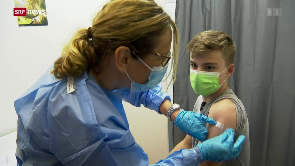 Aus dem Archiv: Impfstart für Kinder und Jugendliche ab 12 Jahren