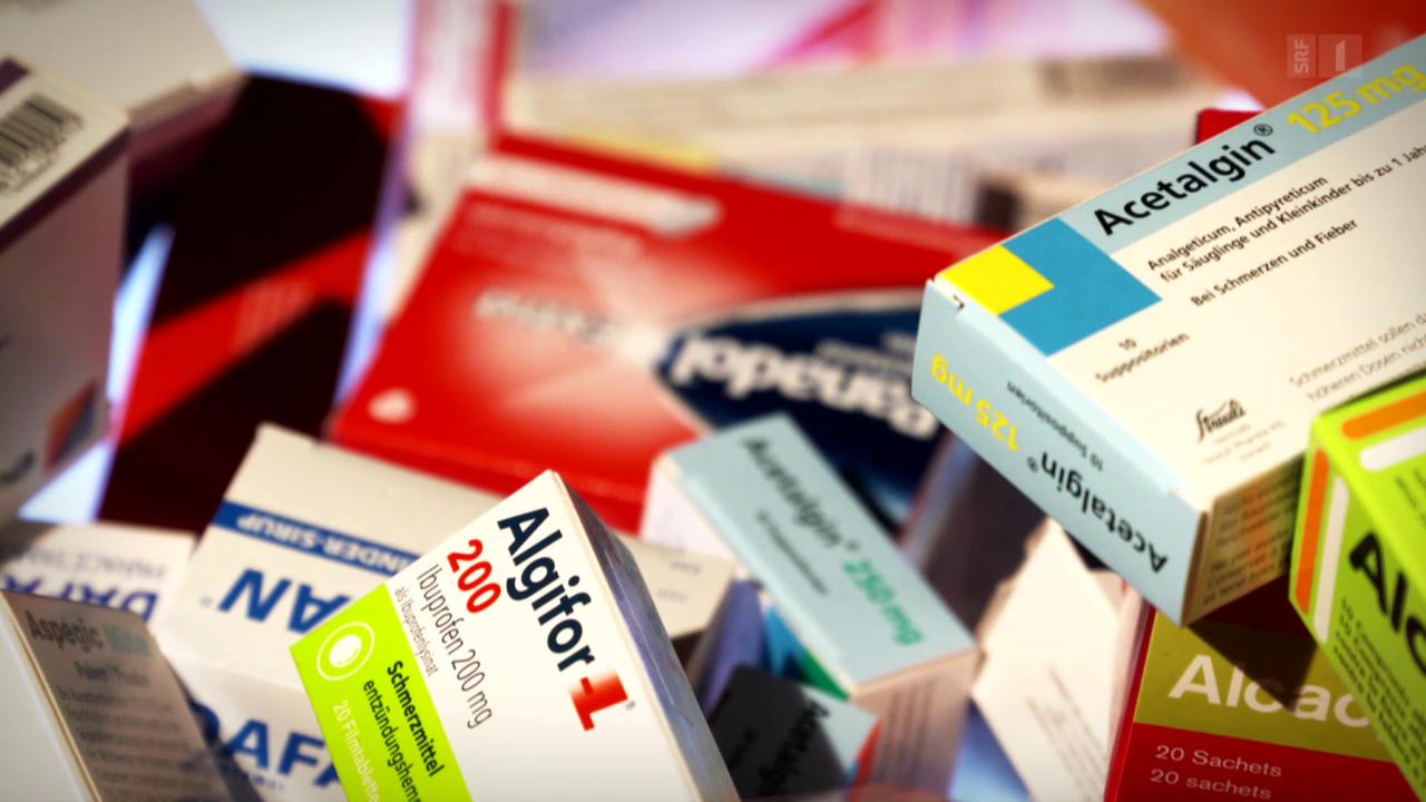 Rezeptfreie Schmerzmittel sind nicht unbedenklich