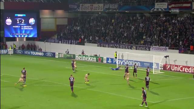 Austria Qien - Dinamo Zagreb