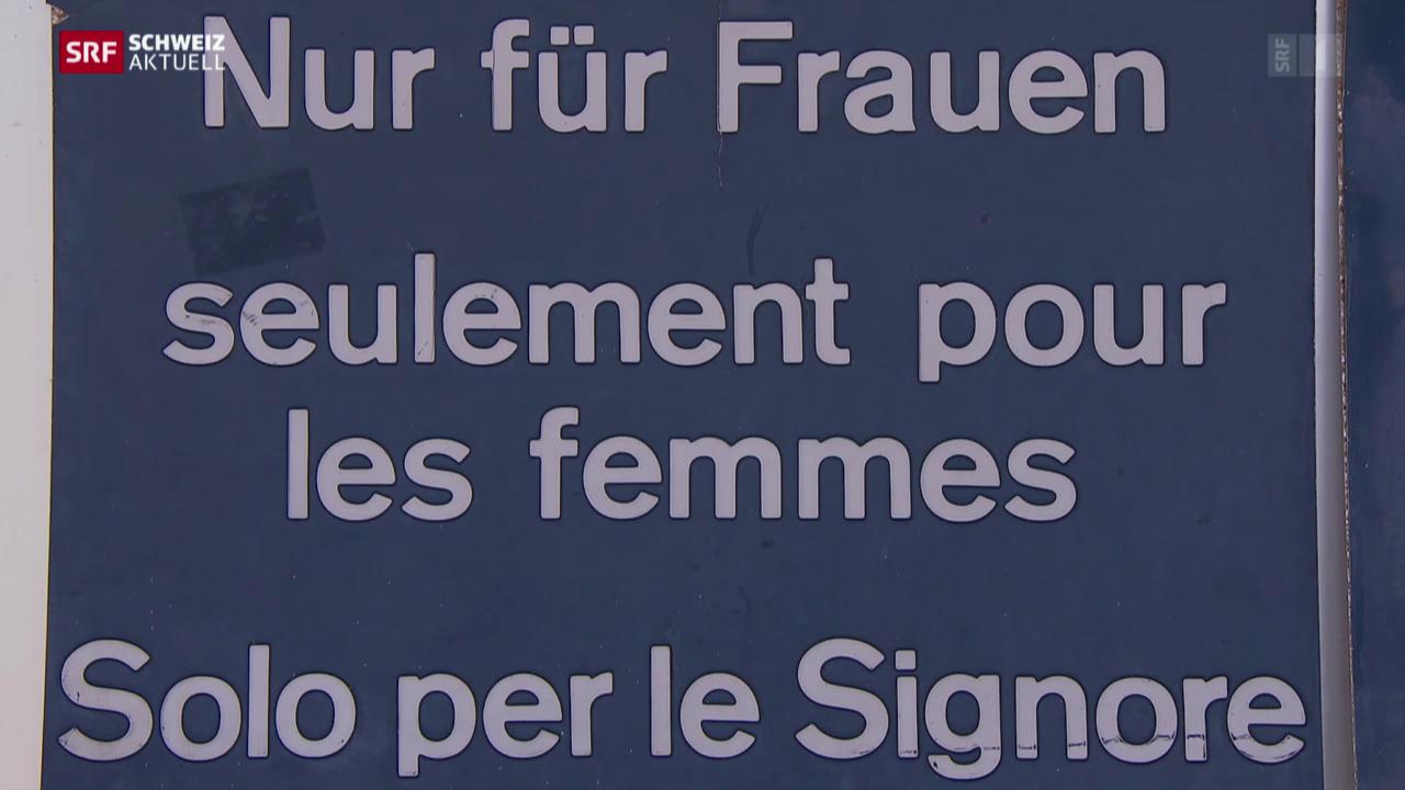 Kulturkampf in Frauenbad