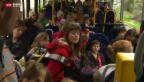 Video «Zuwenig Schulbusse in Oberägeri» abspielen