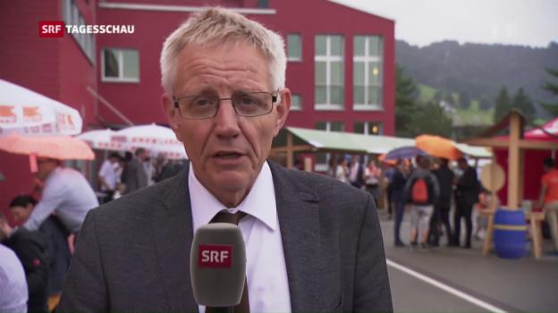 Video «Hanspeter Trütsch zur CVP-Wertediskussion» abspielen