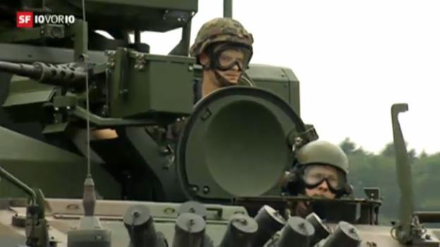 Video «Streit zwischen Regierung und Parlament über die Armeefinanzierung» abspielen