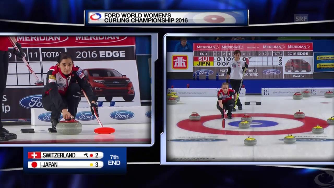 Live-Highlights Curling-Final SUI - JAP