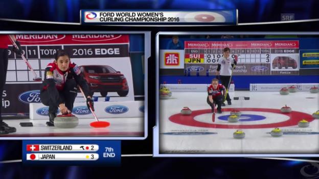 Video «Live-Highlights Curling-Final SUI - JAP» abspielen