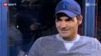 Video «Roger Federer: Sänger, Ulknudel, Vater – die anderen Seiten des Tennis-Stars» abspielen