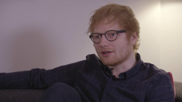 Video «Interview: Ed Sheeran über sein neues Album «Divide»» abspielen