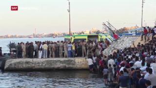 Video «Flüchtlingstragödie vor Ägypten» abspielen