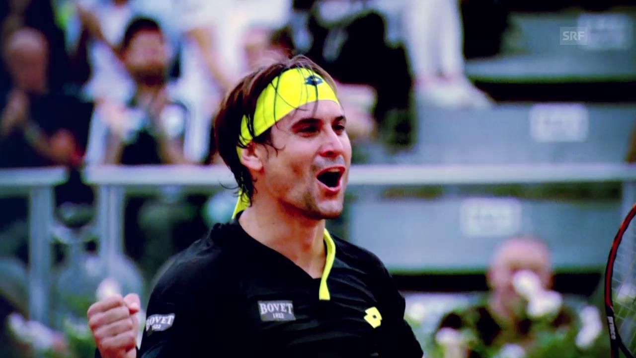 Tennis: ATP Finals, Profil David Ferrer (englisch)