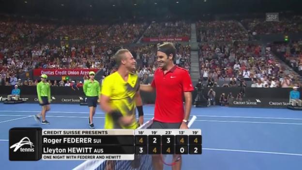 Video «Tennis: Das neue «Fast4»-Format» abspielen