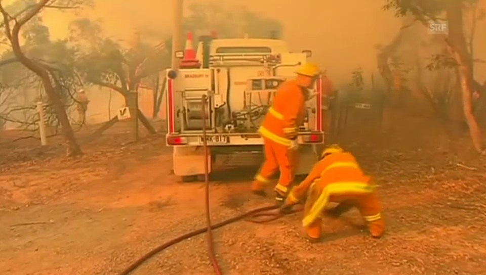 Flammeninferno in Süd-Australien (unkommentiert)