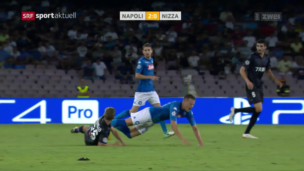 Napoli mit Heimsieg gegen Nizza