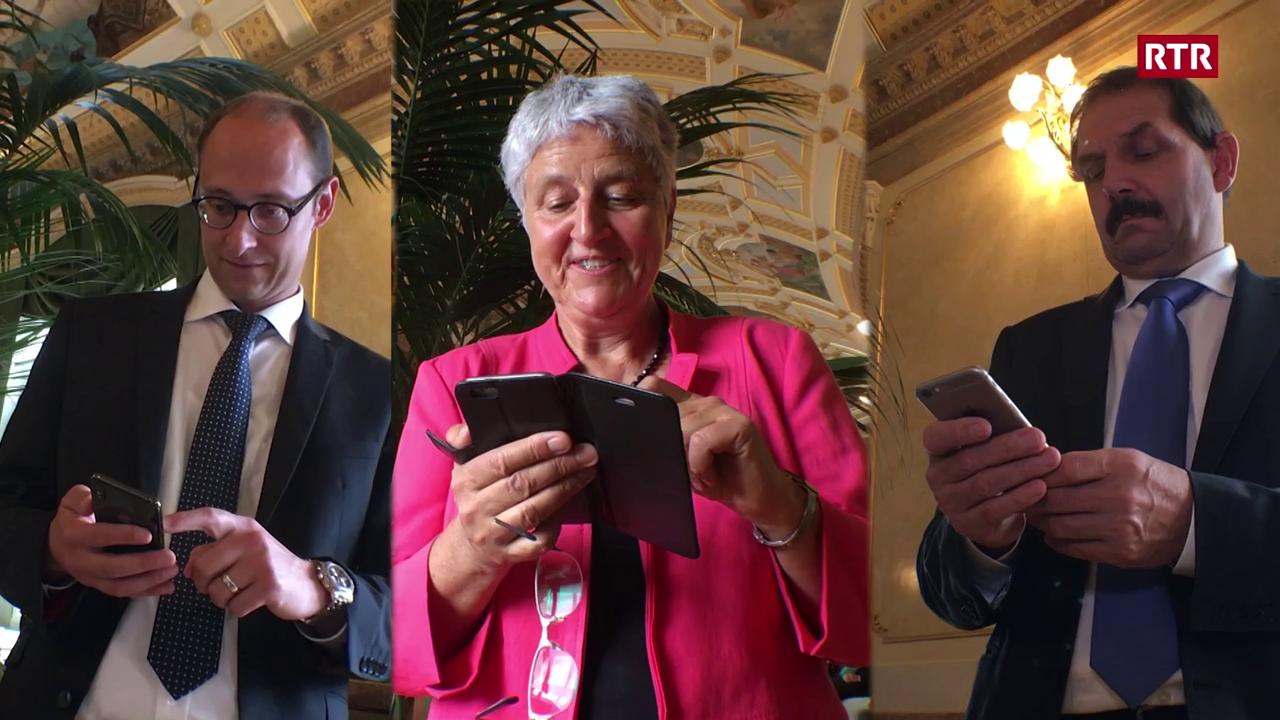 Co protegian parlamentaris grischuns lur datas?