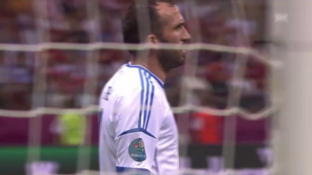 Video «Griechenland - Russland in der Gruppenphase an der EURO 2012» abspielen