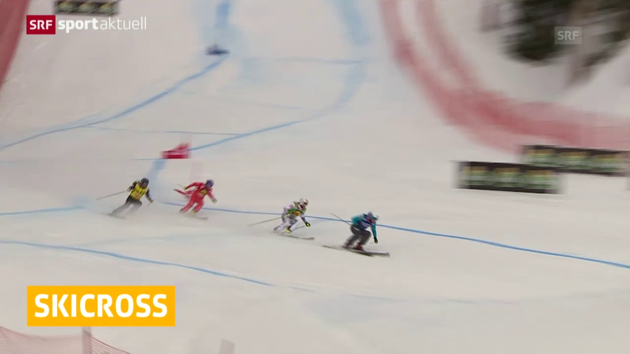 Skicross: Weltcup in Are