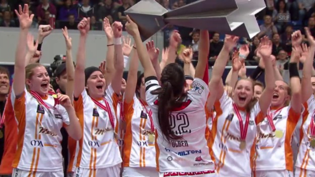 Video «Unihockey: NLA, Playoff Superfinal Frauen, Dietlikon - Piranha Chur» abspielen