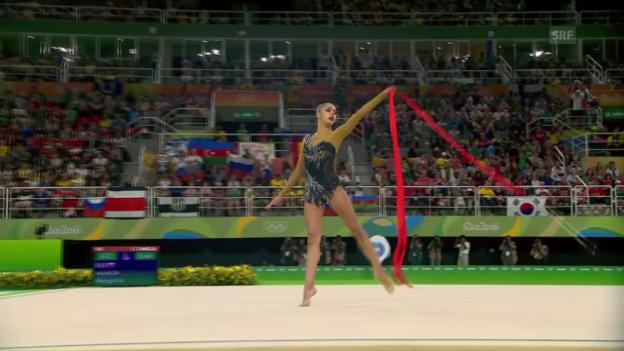 Video «Bänderübung von Olympiasiegerin Mamun» abspielen