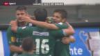 Video «Fussball: Lugano - St. Gallen» abspielen