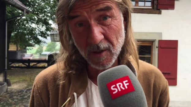 Video «Ralph Wicki nach der Heuboden-Nacht» abspielen
