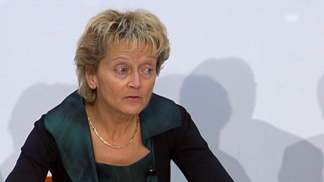 Eveline Widmer-Schlumpf zum neuen Mann im SIF