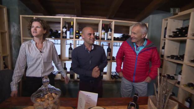 Video «Kanton Tessin - Tag 2 - Osteria dell Enoteca (Wiederholung)» abspielen