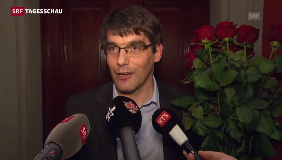 Der neue Fraktions-Chef der SP Roger Nordmann