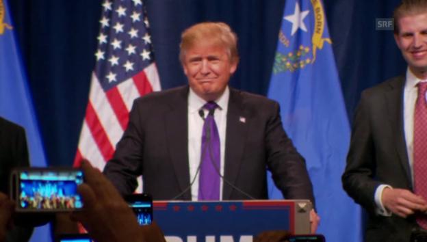 Video «Trump: «Ich liebe die schlecht Gebildeten»» abspielen