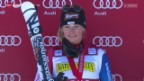 Video «Ski-WM in Vail/Beaver Creek: Favoritin Lara Gut» abspielen