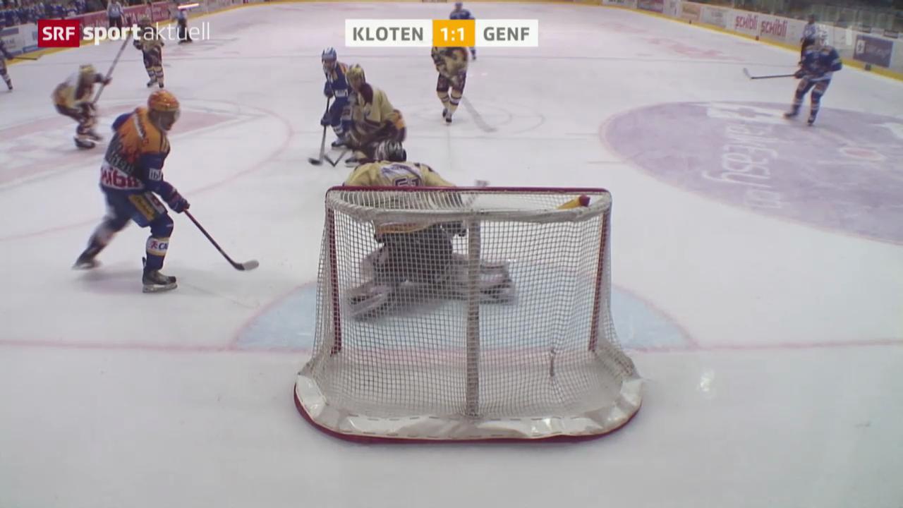 Eishockey: NLA, Kloten - Genf