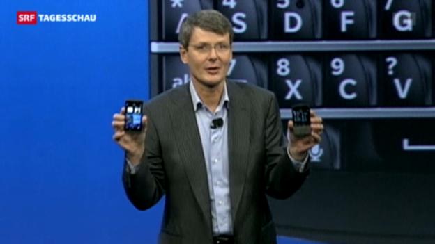 Video «Blackberry mit neuen Modellen» abspielen