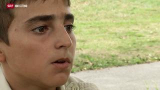 Video «FOKUS: Kinder auf der Flucht» abspielen