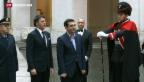 Video «Alexis Tsipras zu Besuch bei Matteo Renzi» abspielen