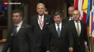 Video «Komplizierte Verhandlungen zwischen EU und Türkei» abspielen
