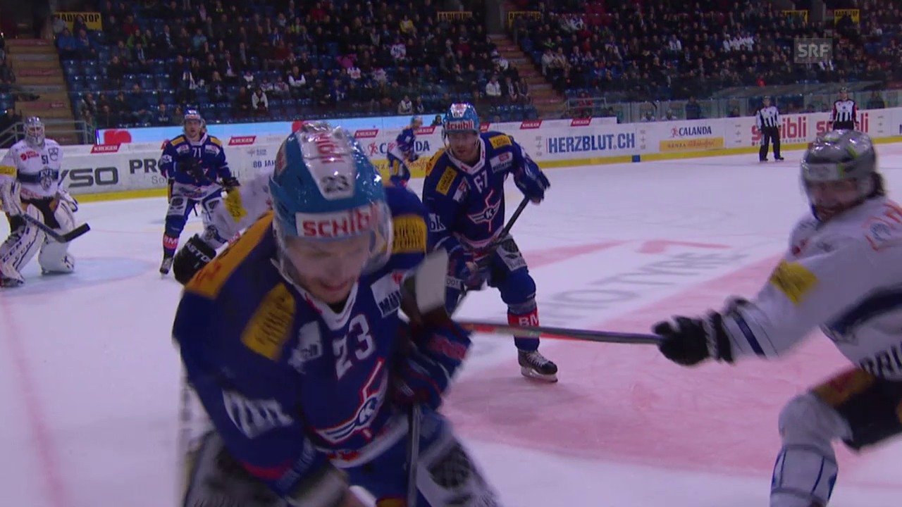 Eishockey: Holdens Foul gegen Santala