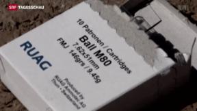 Video «Rüstungsindustrie klagt über sinkenden Export» abspielen