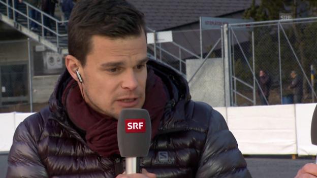 Video «Ski Alpin: Küng über seine Verletzung» abspielen