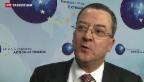 Video «Schweizer Chefdiplomat in schwieriger Mission» abspielen