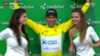 Video «Rad: 2. Etappe Tour de Romandie» abspielen