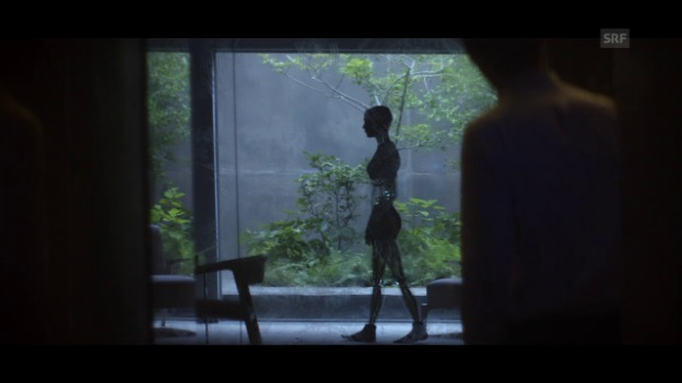 Video «Filmausschnitt aus «Ex Machina»: Das erste Treffen» abspielen
